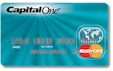 Capitol One UK MasterCard Charge Card.
