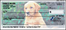 buy puppy checks online for dog lovers and people who love puppies and dogs Personal Checks
